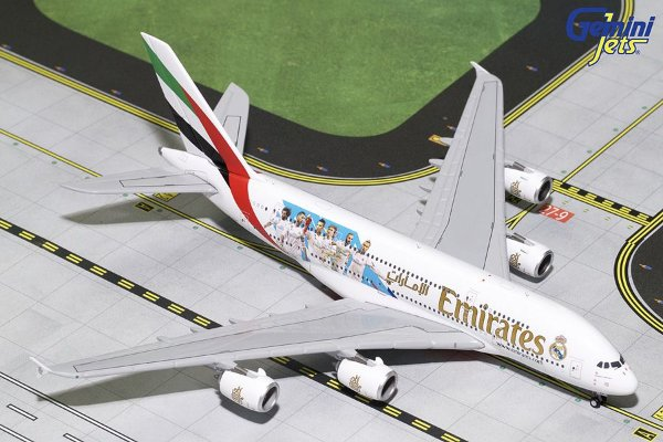 PRÉ- VENDA Gemini Jets 1:400 Emirates Airbus A380-800