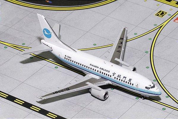 PRÉ-VENDA Gemini Jets 1:400 Xiamen Airlines Boeing B737-500
