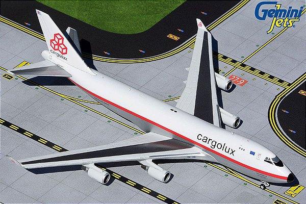 PRÉ- VENDA Gemini Jets 1:400 Cargolux Boeing B 747-400F