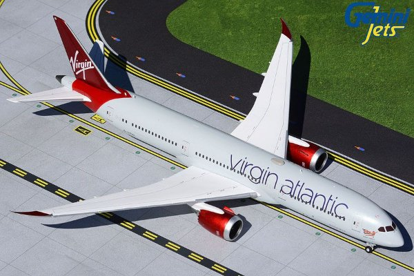 PRÉ- VENDA Gemini Jets 1:200 Virgin Atlantic Airways Boeing B 787-9 Dreamliner