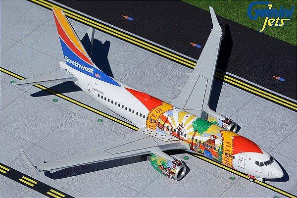 """PRÉ- VENDA Gemini Jets 1:200 Southwest Airlines Boeing 737-700 """"Florida One"""""""