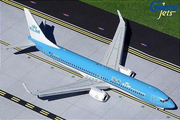 PRÉ- VENDA Gemini Jets 1:200 KLM Royal Dutch Airlines Boeing 737-900 Flaps/Slats Extended