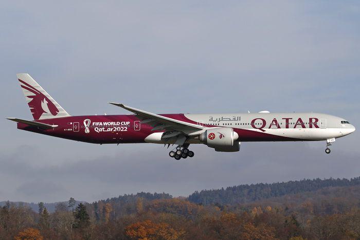 PRÉ- VENDA Phoenix 1:400 Qatar Airways Boeing B777-300ER FIFA World Cup 2022