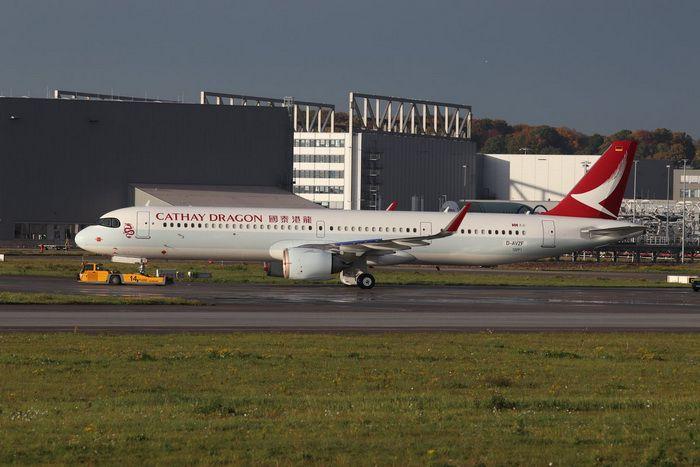 PRÉ- VENDA Phoenix 1:400 Cathay Dragon Airbus A321neo