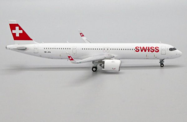 PRÉ- VENDA JC Wings 1:400 Swiss Airbus A321neo