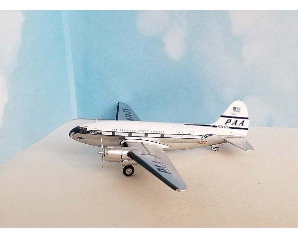 PRÉ - VENDA Western Models 1:200 Pan American Airways Curtiss C-46