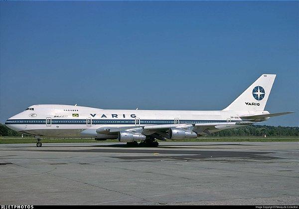 VARIG 747-200 1:400 VNW (Intenção de compra)