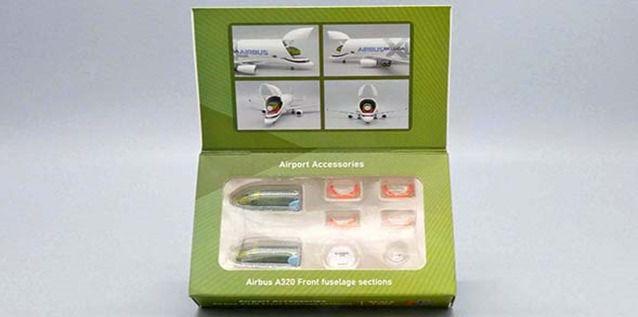 PRÉ-VENDA - JC Wings 1:400 Fuselagem Parcial de A320 para colocar no Beluga 1:400