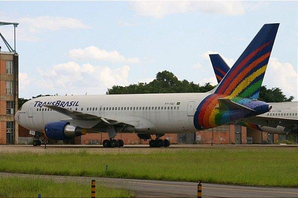 Transbrasil 767-200 Última pintura 1:400 (Intenção de compra)
