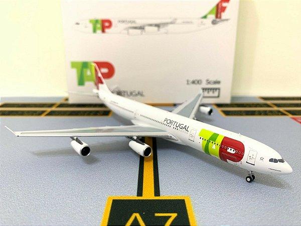 PRÉ - VENDA -  Panda Models 1:400 TAP Portugal Airbus A340-300