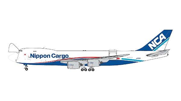 PRÉ-VENDA Gemini Jets 1:400 Nippon Air Cargo Boeing 747-8F Interactive Series