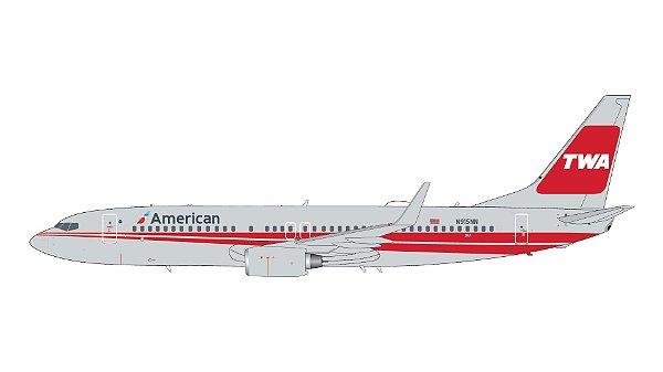 PRÉ - VENDA - Gemini Jets 1:200 American Airlines Boeing 737-800(W)