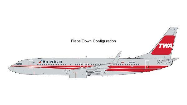 "PRÉ - VENDA - Gemini Jets 1:200 American Airlines Boeing 737-800(W)  ""Flaps Down"""