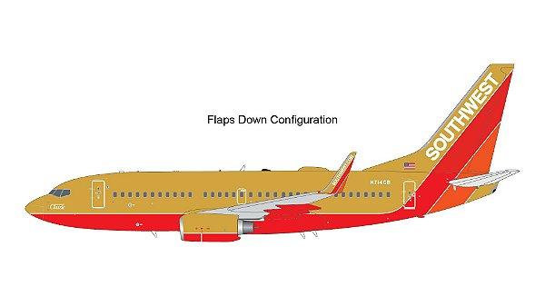 """PRÉ- VENDA Gemini Jets 1:200 Southwest Airlines Boeing 737-700 """"Classic"""" - Flaps Down"""