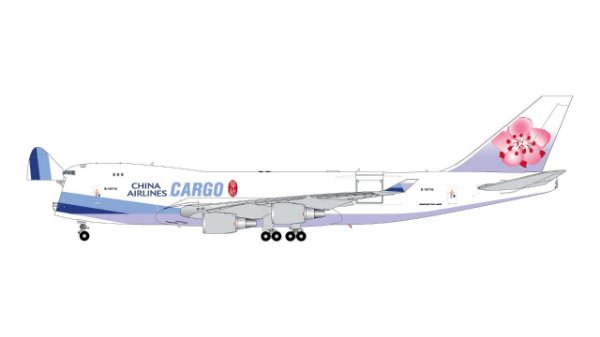 PRÉ- VENDA Gemini Jets 1:200 China Airlines Cargo Boeing 747-400F Interactive Series