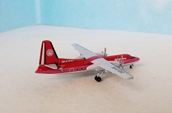 PRÉ-VENDA - Aeroclassics 1:400 Aeroperu Fokker 27