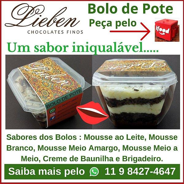 Bolos de Pote  - Lieben - Vários Sabores