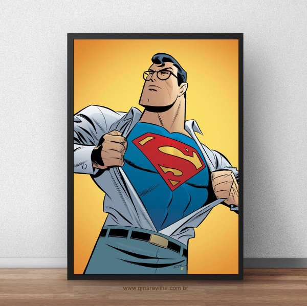 Placa Decorativa Superman