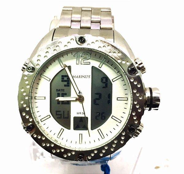 e4f1f02e492 Relogio Masculino Marinus A3423 - Atlantis Relógios