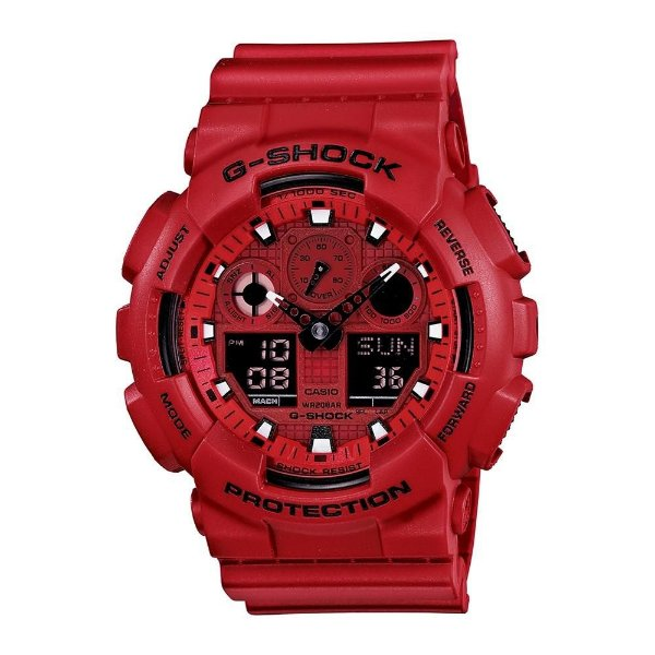 2a8b45aacfd Relógio Masculino Anadigi Casio G-Shock Ga-100C-4Adru - Atlantis ...