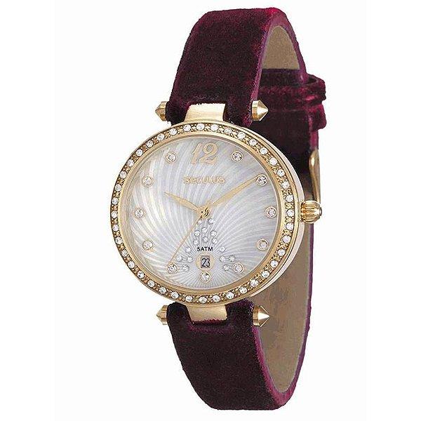 157803ea8b6 Relogio Feminino Seculus 20434Lpsvdr2 - Atlantis Relógios