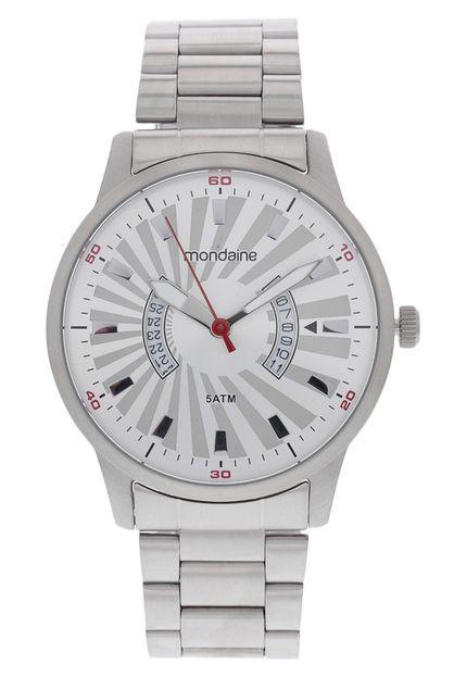 Relógio Mondaine Masculino 78635G0Mvna2 Prata - Atlantis Relógios 947da810bc