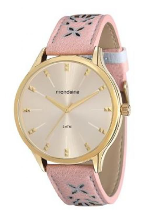 202a8bf9094 Relógio Feminino Mondaine com Pulseira de Couro 76610LPMVDH3 ...