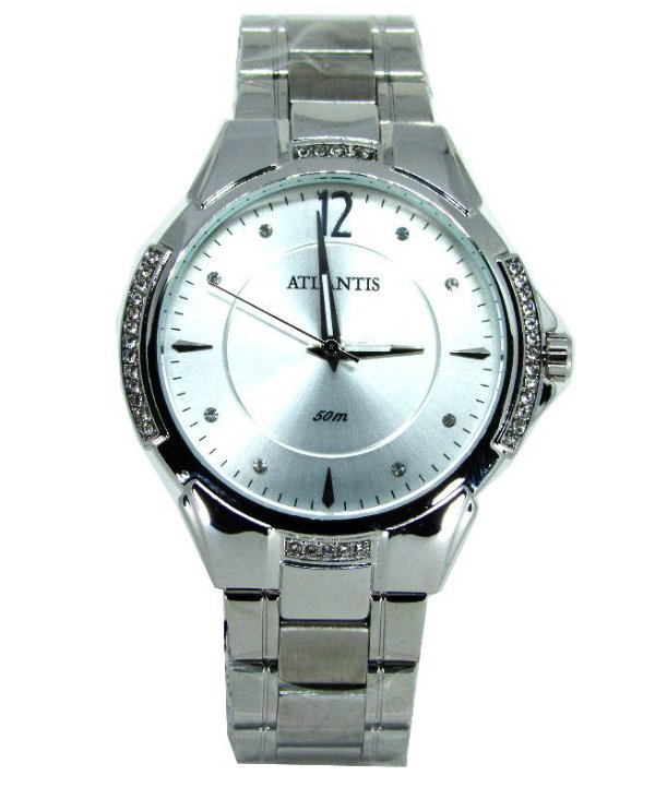 9f5771ca1cc RELOGIO ATLANTIS FEMININO PRATA G3414 - Atlantis Relógios