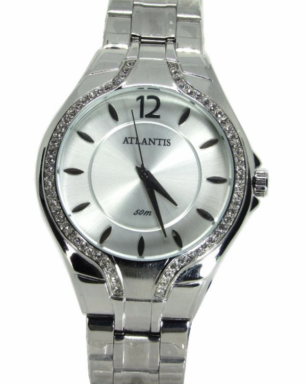 1fc88903420 Relogio Atlantis Feminino G3413 Fundo Branco - Atlantis Relógios