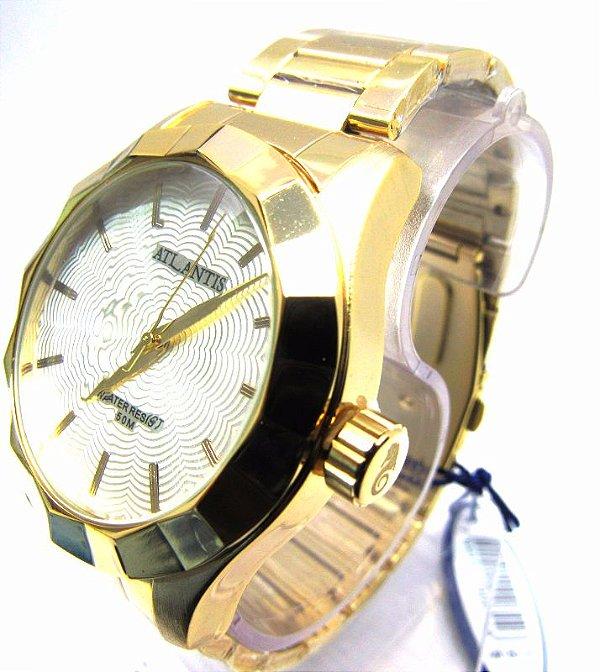43e655c96d5 Relogio Atlantis Feminino G3434 Fundo Branco - Atlantis Relógios
