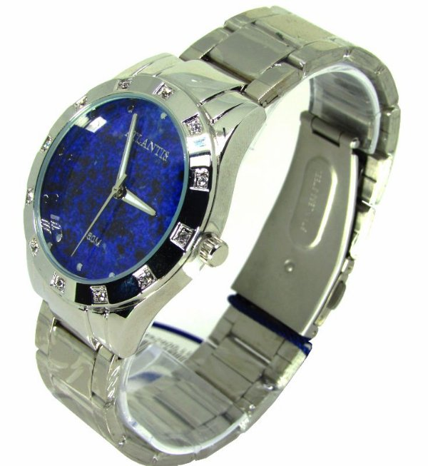 9f0f394b21d Relogio Atlantis Feminino G3451 Fundo Azul - Atlantis Relógios