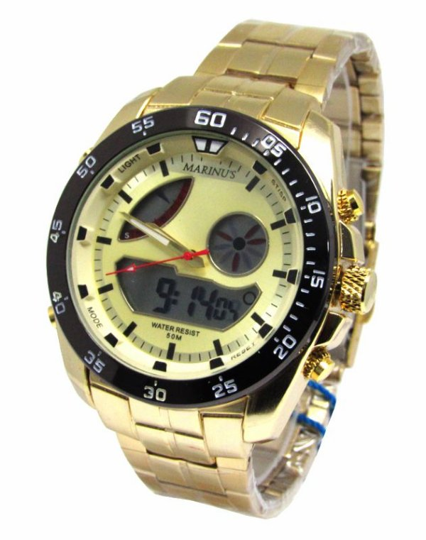 349e54587c3 RELOGIO MASCULINO ATLANTIS MARINUS G3449 ANADIGI - Atlantis Relógios