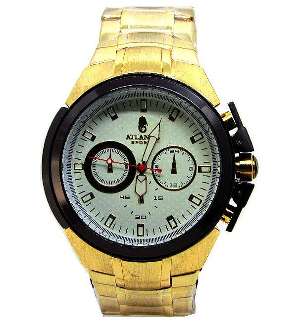 6d4c9eeed37 RELOGIO MASCULINO ATLANTIS G3241 FUNDO BRANCO - Atlantis Relógios