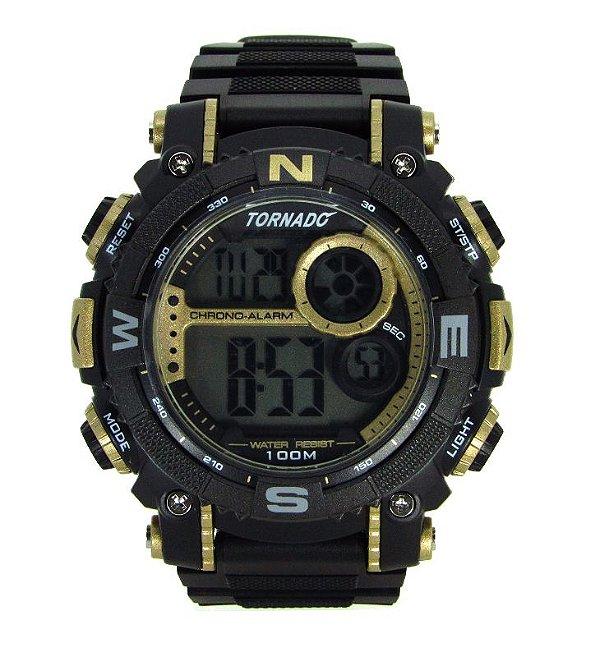 601f4945ac6 RELOGIO MASCULINO ESPORTIVO TORNADO G7439 - Atlantis Relógios