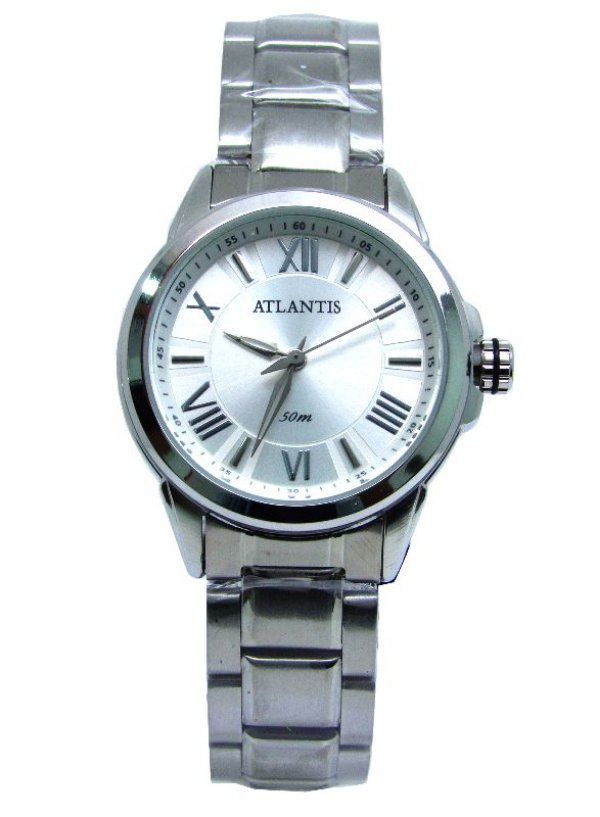 ec5f9efbc5d RELOGIO FEMININO ATLANTIS B3445 PRATA - Atlantis Relógios