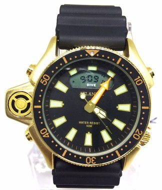 9177332950e RELOGIO MASCULINO ATLANTIS G3220 BORRACHA FUNDO PRETO - Atlantis ...