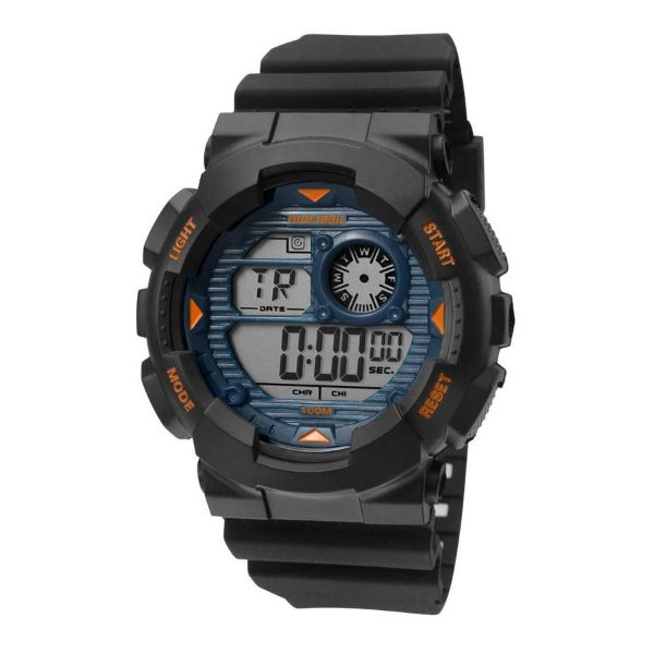 e2436342dd0 Relógio Mormaii Preto Masculino Wave Digital MO3415A 8A - Atlantis ...