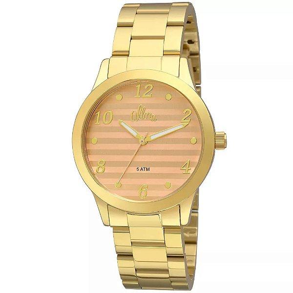 3b447e652b1 Relógio Allora Feminino Soft Colors AL2035FIF 4X - Dourado ...