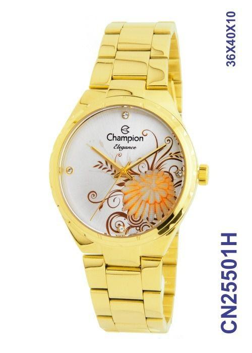 3f9a06f215d Relógio Champion Elegance Feminino Original Cn25501H - Atlantis Relógios