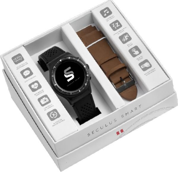 2fd388c3bcf Relógio Masculino Seculus Smartwatch Esporte 79000GPSVPV1 - Atlantis ...