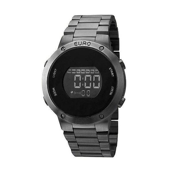 7a62381c3cb Relógio Euro Feminino Preto Digital Eubj3279ab 4p Digital - Atlantis ...