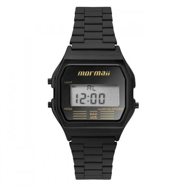 d1ecb2fc8551c Relógio Mormaii Feminino Vintage Mojh02aj 4p Preto Digital ...