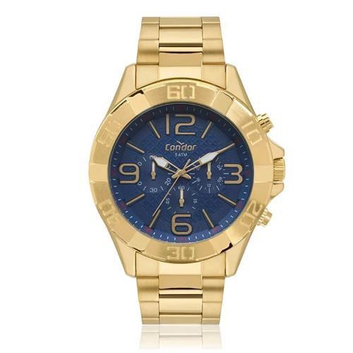 69ea3eba907 Relógio Masculino Condor Analógico COVD54BD 4A Dourado - Atlantis ...