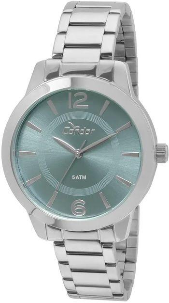 39dd8f2a727 RELOGIO CONDOR FEMININO PRATA CO2035KQD 3Z - Atlantis Relógios