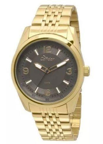 5713d835b47 RELOGIO CONDOR MASCULINO DOURADO CO2035KQB 4C - Atlantis Relógios