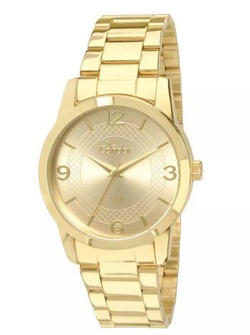 93e6d25dcde RELOGIO CONDOR FEMININO DOURADO CO2035KLP 4D - Atlantis Relógios