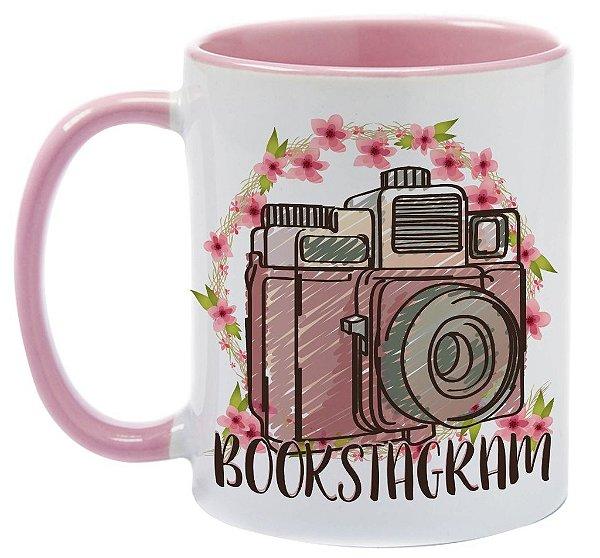 Caneca Bookstagram - Rosa