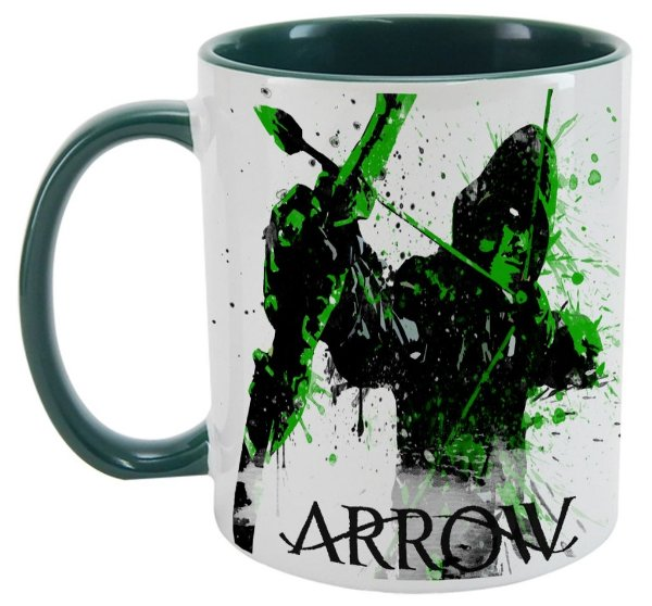 Caneca - Série Arrow - Arqueiro Verde
