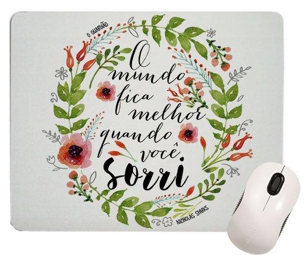 Mouse Pad - O Guardão - Nicholas Sparks - Frase