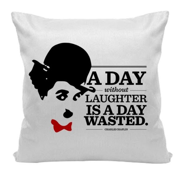 Almofada - Charlie Chaplin